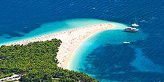 Zlatni Rat-stranden i bol i Kroatia Dubrovnik, Apollo, Rats, Outdoor, Europe, Cleopatra, Travel, Outdoors, Rat