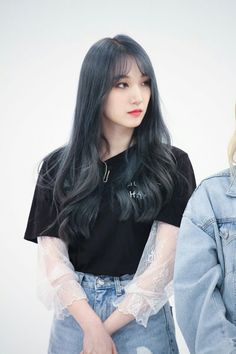 Pristin Roa, Kim Min Kyung, Korean Wave, Pledis Entertainment, Kpop Girls, Girl Group, Girlfriends, Idol, Bell Sleeve Top