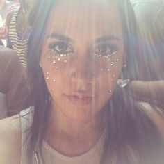 Sparkly Face