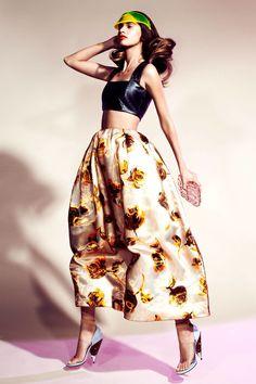 michalina parkosz by marcin kempski for elle finland june 2013 | visual optimism; fashion editorials, shows, campaigns & more!