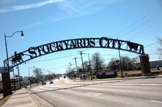 Stockyards City, Oklahoma City  Follow that road to Cattlemen's Restaurant.....yummy!!  It has been in OKC for years!!