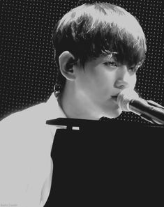 That smile bw... when he finished his solo 'My Turn To Cry' ah it melts my heart. Seriously♥♥ #exo #baekhyun