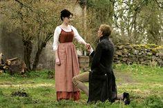 Anne Hathaway (Jane Austen) and Laurence Fox (Mr. Wisley) - Becoming Jane directed by Julian Jarrold (2007) #janeausten