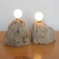 Driftwood lights •Etsy