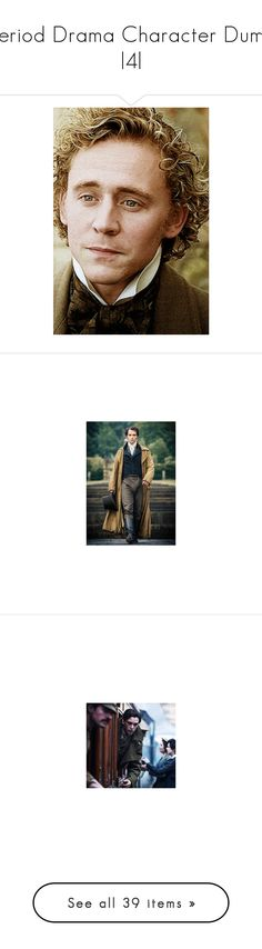 """""""Period Drama Character Dump 