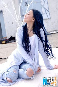 Chinese singer Angela Chang