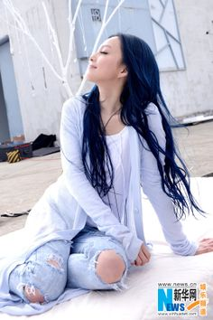 Chinese singer Angela Chang