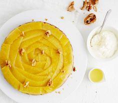 Gluteeniton, inkiväärillä maustettu ananaskeikauskakku