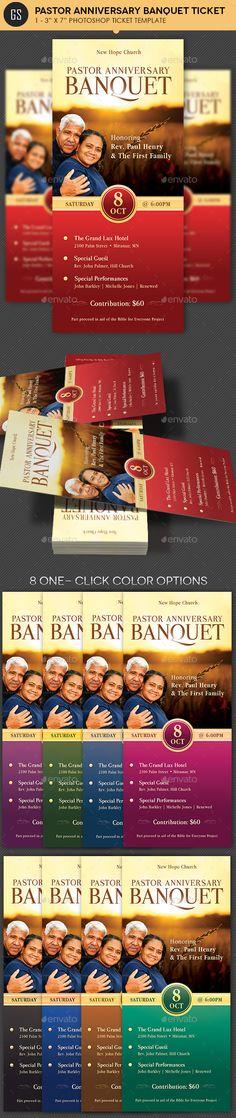 Anniversary Banquet Ticket Plus Jacket Template   Print Templates, Template  And Ticket Template  Banquet Ticket Template
