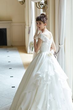 Princess Wedding Dress For Aire Boho Collection 2020 2 Piece Wedding Dress, Wedding Dress Separates, Classic Wedding Dress, Western Wedding Dresses, Bridal Dresses, Wedding Gowns, Flower Girl Dresses, Bridal Collection, Marie