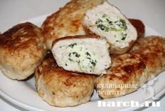 Куриные зразы с творогом и шпинатом, retsepty dlya kormyashhih mam vtorye blyuda iz pticy vtorye blyuda