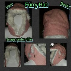 Selling this NWOT. Light pink furry hat in my Poshmark closet! My username is: kfrye71. #shopmycloset #poshmark #fashion #shopping #style #forsale #Other