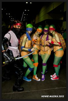 Teenage Mutant Ninja Turtles | MegaCon 2013