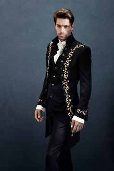 43 ideas for party outfit men classy Steampunk Fashion, Gothic Fashion, Classy Fashion, Fashion Black, Men's Formal Fashion, Mens Fashion Suits, Mens Suits, Fashion Vest, Mode Masculine