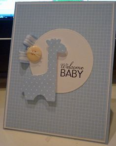 Welcome Baby by kenaijo - Cards and Paper Crafts at Splitcoaststampers