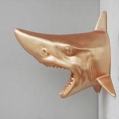 Shark Head | Wall Hanging | Various Colours