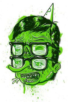 Nerd | illustration by Drew Millward, via Flickr