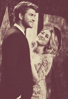 a lil old fashioned, but cute for miley and liam