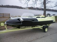 Hemmings Find of the Day – 1956 Lone Star Meteor Old Boats, Small Boats, Speed Boats, Power Boats, Drag Boat Racing, Malibu Boats, Boat Engine, Vintage Boats, Boat Stuff