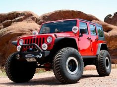 Check out this amazing offroad Jeep! Jeep Rubicon, Jeep Wrangler Jk, Jeep Wrangler Unlimited, Jeep Suv, Jeep Truck, Red Jeep, Badass Jeep, Cool Jeeps, Jeep Patriot