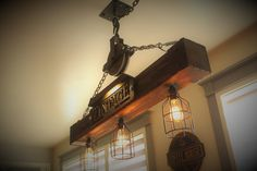 Like These Industrial DecorIdeas? Visit Us For More Industrial Light Fixture Designs Industrial Coat Rack, Industrial Style Lighting, Industrial Light Fixtures, Rustic Lighting, Vintage Lighting, Cabin Lighting, Pipe Lighting, Industrial Shelving, Farmhouse Lighting
