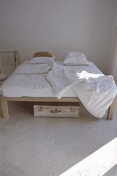 simple bed.