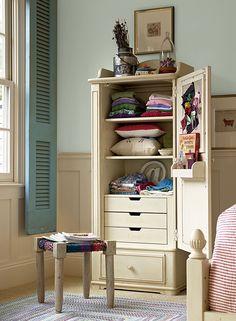 Paula Deen Gals- Dressing Cabinet with a Linen finish