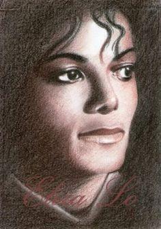 Michael by MJ Portrait Artist Eliza Lo