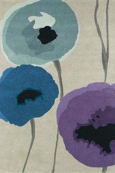 Karpet Sanderson Poppies 45705
