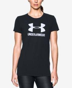 2670e90214b Under Armour Sportstyle Charged Cotton T-Shirt - Black XXL Armor Shirt,  Workout Wear