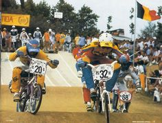old school bmx bmx action