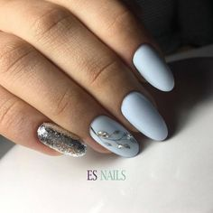 Manicure January - February photos of the most beautiful nails Acrylic Nail Designs, Nail Art Designs, Acrylic Nails, Hot Nails, Hair And Nails, American Nails, Nagel Gel, Fabulous Nails, Simple Nails
