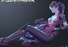 ArtStation - Widowmaker, J n3