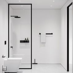 Minimalist Bathroom 694961786234573307 - Shower in style with our simple and minimalistic range of bathroom accessories🖤… Source by elodiebergia Minimalist Bathroom Furniture, Minimalist Bathroom Design, Bathroom Design Small, Bathroom Interior Design, Bathroom Layout, Modern Bathroom, White Bathrooms, Luxury Bathrooms, Master Bathrooms