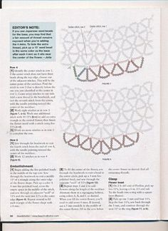 Necklace - Necklace - Flower and lace tutorial- 3