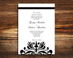 1770 best black and white wedding invitations images black white