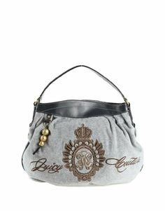 Women's Juicy Couture Purse Handbag Cozy Heather Grey