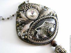 """Кулон """"Каменный цветок"""". Handmade."""