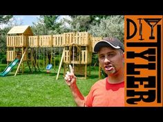 Building the World's Greatest Swing Set | Part 1 - YouTube