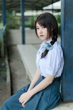 School Girl Japan, Japan Girl, Japanese Beauty, Asian Beauty, Girls Uniforms, Asia Girl, Hottest Models, Kids And Parenting, My Girl