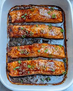 A perfectly flaky and tender salmon recipe thats made with an easy homemade teriyaki sauce and baked to perfection. Makes for a perfect lunch or dinner recipe that can be ready in less than minutes. Salmon Dishes, Seafood Dishes, Seafood Recipes, Cooking Recipes, Fish Dishes, Dinner Recipes, Healthy Salmon Recipes, Easy Fish Recipes, Baked Teriyaki Salmon