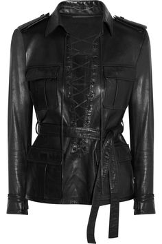 Saint LaurentSafari leather top