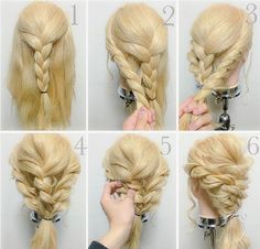 Pin by Wendy Brown on Hair styling in 2018 Pin by Wendy Brown on Hair styling in 2018 Step By Step Hairstyles, Fancy Hairstyles, Braided Hairstyles, Layered Hairstyles, Natural Hair Styles, Long Hair Styles, Pinterest Hair, Long Layered Hair, Love Hair