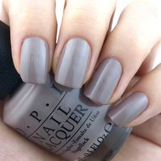 OPI Fall 2017 Iceland Collection | Icelanded A Bottle of OPI: Review and Swatches Opi Nail Polish, Opi Nails, Nail Polish Colors, Manicure And Pedicure, Mani Pedi, Opi Fall 2017, Foundation Colors, Fall Nail Colors, Nail Designs Spring