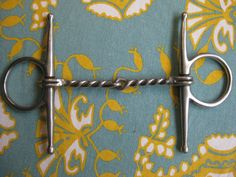 Full English Twist Cheek Snaffle in Stainless by PatsyTexasRose