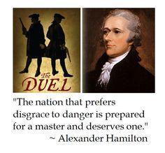 Alexander Hamilton on Character