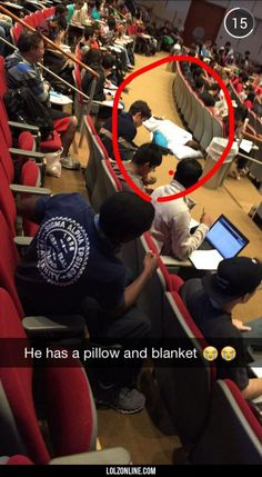 So my friend sent me a snap. That guy's semester must be awesome.#funny #lol #lolzonline