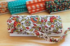 Check out Beth's tutorial on how to make bias tape.  The Beauty of Bias Tape Part 1: Make Your Own | eHow Crafts