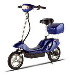 Harmony's electric scooter