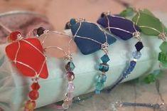 Sea Glass Jewelry #seaglassrings